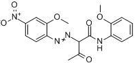 Pigment Yellow 74 molecular