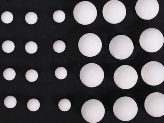 Ceramic Aluminum Grinding Balls for Coatings and Paints