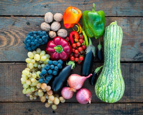 Silicone Adjuvants for fruits and vegetables