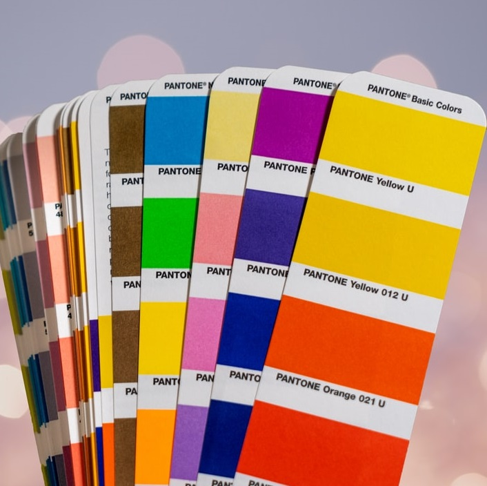 Organic Pigments color cards